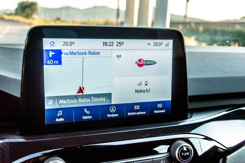 Multimediálne rozhranie SYNC3 dostalo niekoľko nových online funkcii