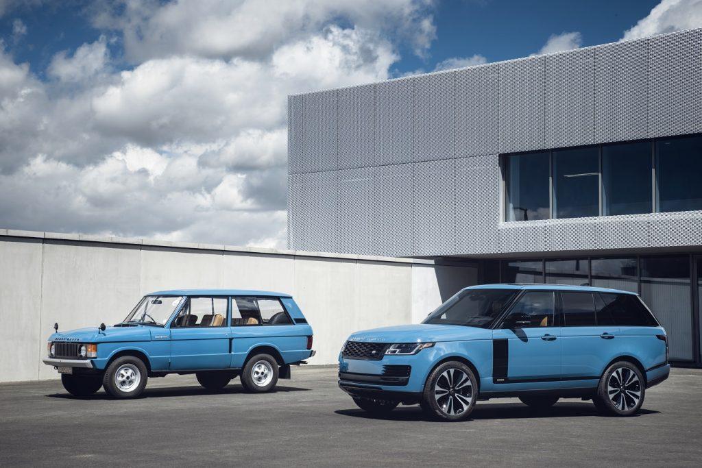 Range Rover oslavuje okrúhlu 50-tku