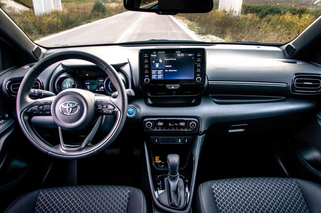 Palubná doska nového modelu Toyota Yaris