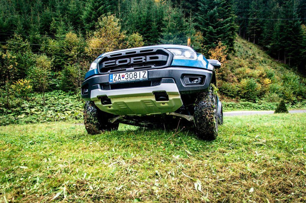 V teréne nezastaví Ford Ranger Raptor takmer žiadna prekážka